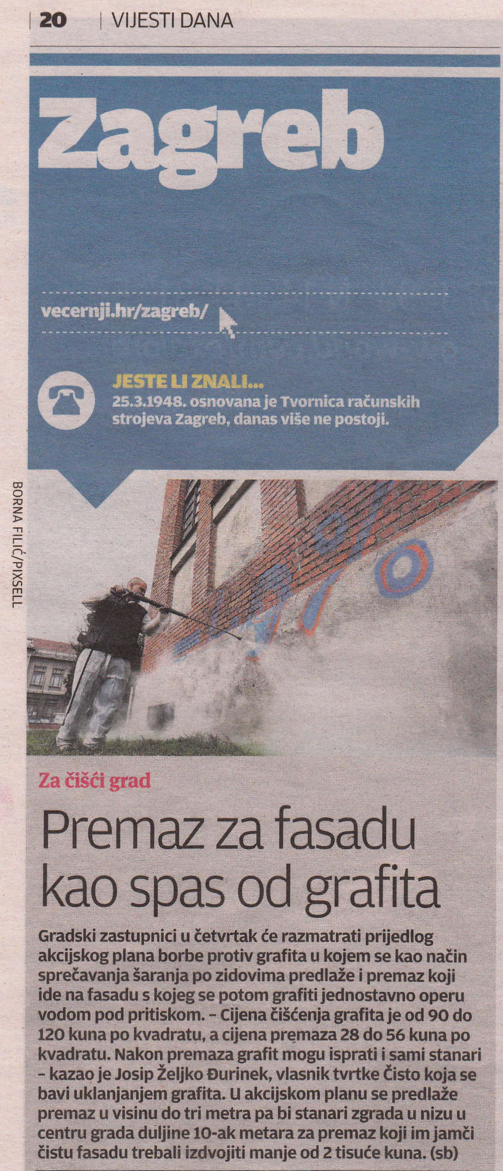 Press  Čisto servis za čišćenje